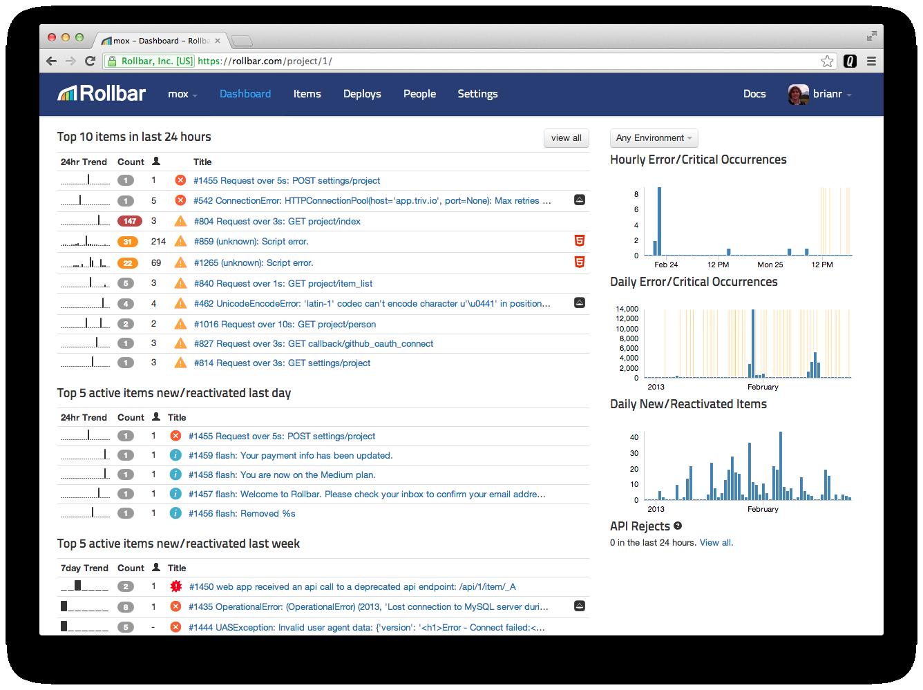 Start tracking your errors - Blog - Fork CMS